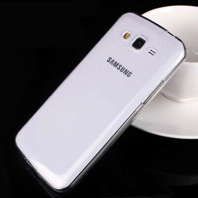 2xUltra Thin Clear Gel skin case cover For Samsung Galaxy Grand2 G7102 G7106