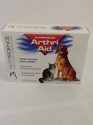 Arthri Aid Tablets for Dogs x 120. Premium Service. Fast Dispatch.