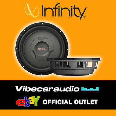 """Infinity Reference 1200S 12"""" Shallow Mount Subwoofer 1000W Peak Power"""