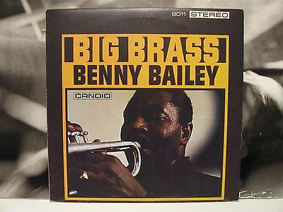 Benny Bailey - Big Brass Lp Excellent 1985 Ita Base Records Candid Gjs 9011