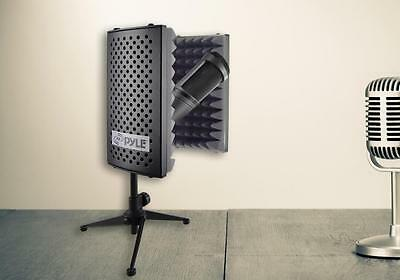 Pyle PSMRS08 Compact Microphone Isolation Shield  Sound Foam Reflector