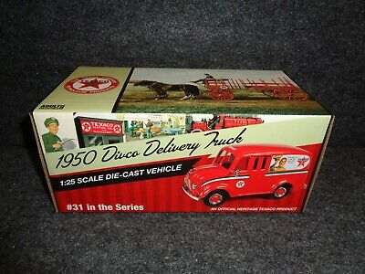 2014 Texaco #31 In Series 1950 Divco Delivery Truck / Van Regular Edition Mib A