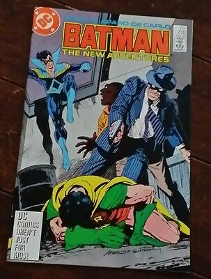 Batman #416, (1987): White Gold and Truth!