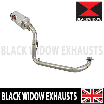 Black Widow Full Exhaust System Oval Silencer MSX 125 GROM 13 14 15 16 230SS