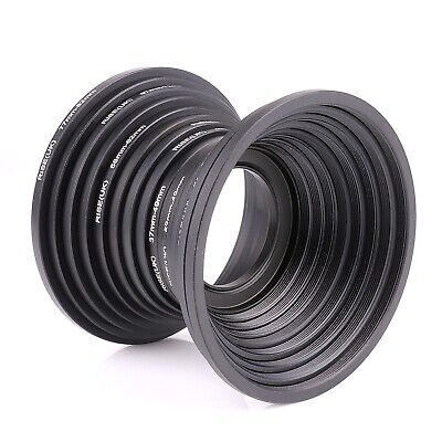RISE(UK) 100% Lens Filter Step up + Step down Rings set 18pcs 37mm-82mm