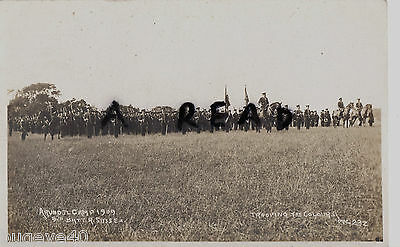 5th Royal Sussex Regiment Trooping the Colours Arundel Camp 1909