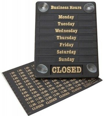 Business Hours Sign Shop Sign open / closed