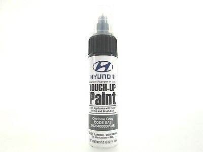 NEW OEM Touch Up Paint Pen 0028400000SAE for Hyundai Kia Cyclone Gray SAE