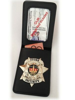 3 x Badge Wallets, with ID Window - Affix your Badge to a New Wallet - Bulk Buy