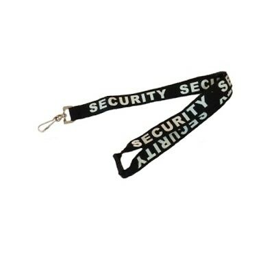 20 x Security Lanyards - Breakaway Section - Black & White - 2015-16 Release