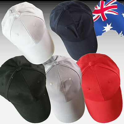 Baseball Cap Men Women Golf Sports Hats Cotton Blend Plain Solid CAHAT 57