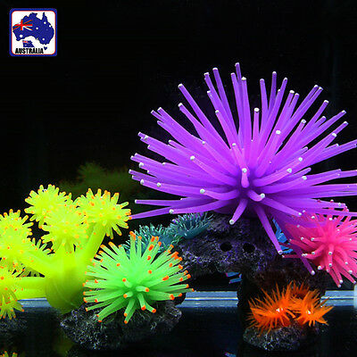 5x 10x Artifical Simulation Sea-urchin Coral Plant Aquarium Tank Decor HCFIS 59
