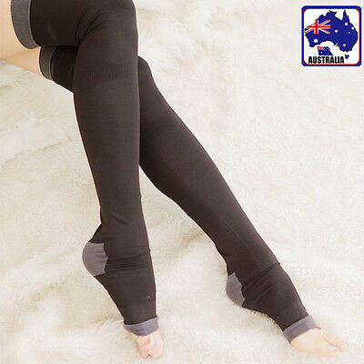 Women High Stocking Leg Slim Sleep Socks Thigh Compression Stovepipe CSOCK 3055