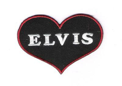 patch embroidered / écusson thermocollant Elvis