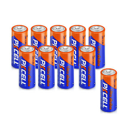 10 x N Size LR1 UM-5 Alkaline Batteries 910A E90 MN9100 AM5 1.5V Battery PKCELL