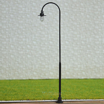 8 pcs O scale Raplaceable Model Lamppost street light Lamp easy Maintain #RB33-O