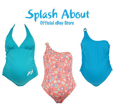 Splash About Maternity Swimming Costume/ Swimwear 10 12 14 16