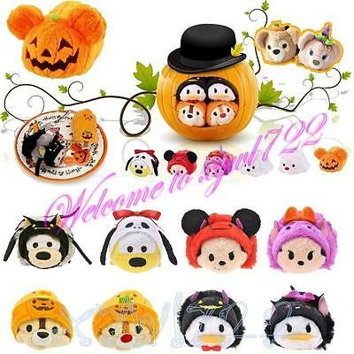 "Halloween 2015 TSUM TSUM 3.5"" Mini Plush Toy Devil Pumpkin Chip Dale Goofy Pluto"