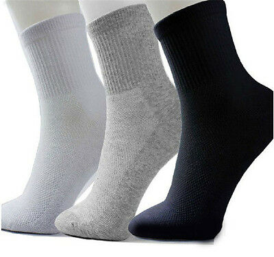 1 Pairs Men's 100% Brand New Socks Thermal Casual Soft Cotton Sport Sock for men