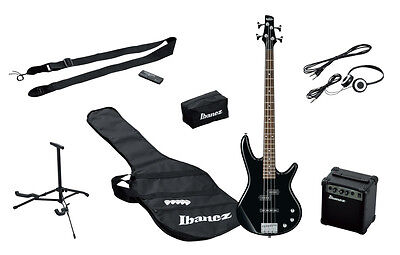 IBANEZ IJSR190-BK Jumpstart  Black  kit con amplificatore, cuffie e stand NUOVO