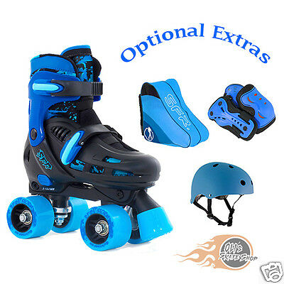 SFR Storm II Adjustable Quad Roller Boots Skates **Plus Optional Extras**