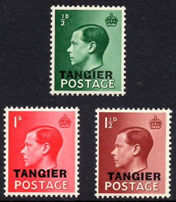 GB Edward VIII Definitives Morocco Agencies TANGIER Complete Set Unmounted Mint