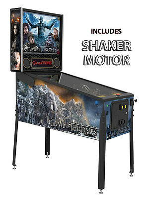 Stern Game of Thrones Premium Pinball Machine w Shaker Motor