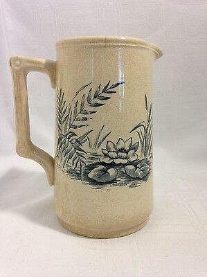 Antique F.Winkle & Co Porcelain English Transferware Small Pitcher