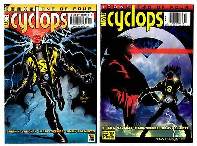 Cyclops #1-4 (2001) Marvel Icons VF to VF/NM