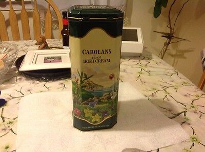 Vintage Carolans Finest Irish Cream Collectible Tin. Product. of Ireland