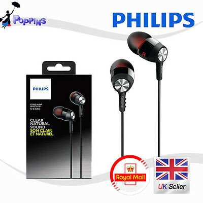New Genuine Philips SHE8000 Non-slip Grip for Easy Fit In-Ear Headphones