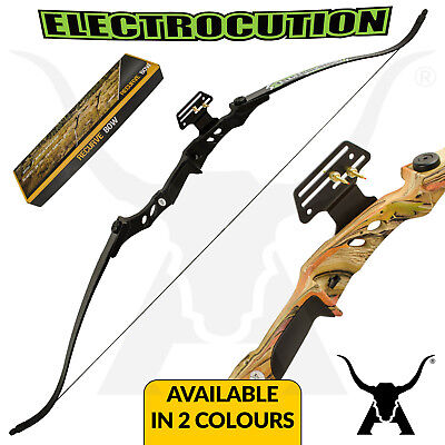 Electrocution - Takedown Recurve Bow - Alloy Riser - Target Archery - Hunting
