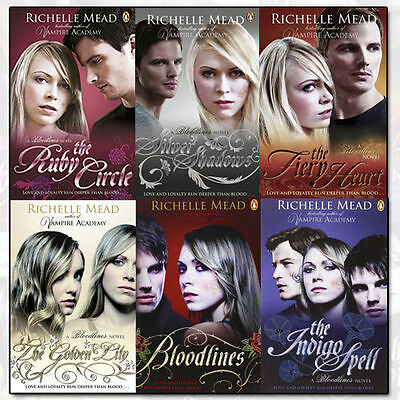 Bloodlines Series Collection 6 Books Set Pack By Richelle Mead New US
