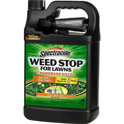 Spectracide Weed Stop for Lawns Plus Crabgrass Killer. 1 Gal. FREE SHIPPING