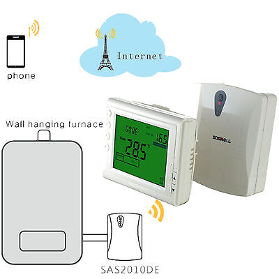 WIFI Wireless thermostat For Electric/Water/Boiler Heating system APP Control