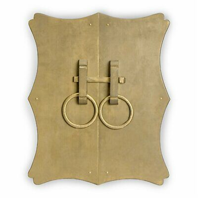 """CBH Chinese Brass Hardware Cabinet Face Plate 10""""x12"""""""