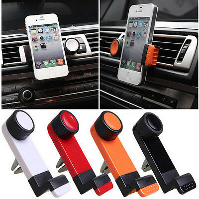 Support Voiture ventilation GPS Telephone Mobile Grille Aeration Air Vent Mount