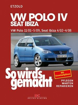 Reparaturanleitung VW Polo 9N so wirds gemacht Etzold Band 129
