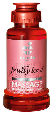 Olio per massaggio erotico Swede Fruity Love Strawberry Massage Oil – 100 m...