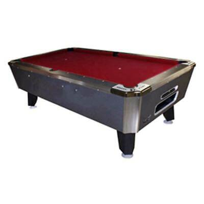 "Valley 93"" Panther Pool Table- Black Cat Finish"