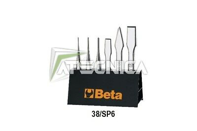 Set Di Punzoni Scalpelli Beta Tools 38/sp6  Bulini Ugnetto Beta 000380009