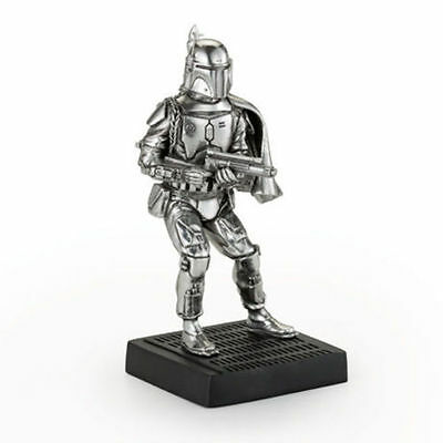 Star Wars Pewter Figurine Boba Fett - Lucasfilm Approved - by Royal Selangor