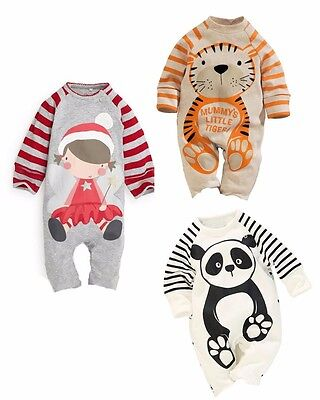 1pcs cotton Kids Baby Boy Girls Infant newborn clothes Romper Jumpsuit Bodysuit