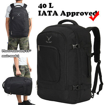 Vn Expandable Carry On Bag Business Travel Backpack Cabin Suitcase Luggage Bags