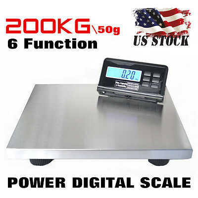 200kg 50G Digital Postal Parcel Postage Shipping Scales gram scales US STOCK