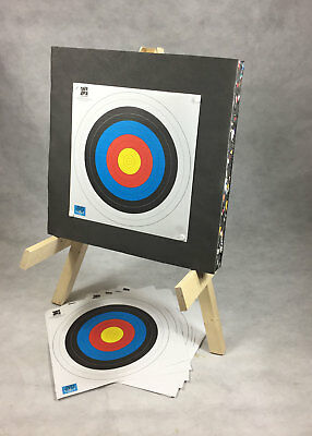 ASD Archery Target Package Includes Stand, 60cm Foam Boss, Fita Faces & Pins