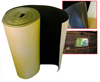 10 x 1 m Self Adhesive Thermal Acoustic XPE Foam Insulation caravan camper van