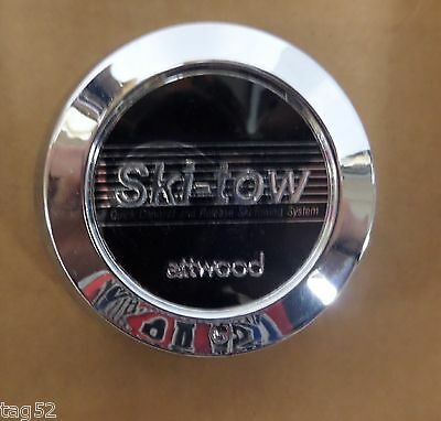 Water Ski-Tow Ski Rope Attachment 360 Degrees Pull Two Skiers Attwood  Usa