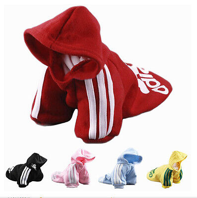 Puppy Pet Dog Cat Clothes Hoodie Winter Warm Sweater Coat Costume Apparel XS-3XL