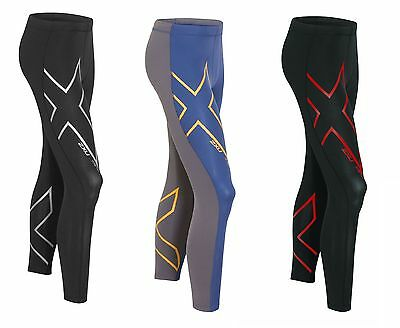 New 2XU Men Hyoptik Thermal Compression Tights Running Pants Tight Train Race